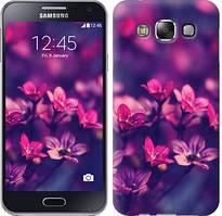 """Чехол на Samsung Galaxy E5 E500H Пурпурные цветы """"2719c-82-481"""""""