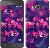 """Чехол на Samsung Galaxy Grand Prime VE G531H Пурпурные цветы """"2719c-212-481"""""""