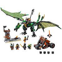 Лего ниндзяго Оригинал Зелёный энерджи дракон Ллойда  Конструктор LEGO Ninjago 70593