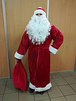 Костюм Деда Мороза велюр
