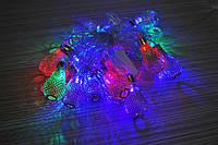 Гирлянда светодиодная груша цвет мульти 20 LED 3 метра