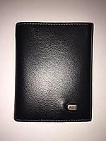 Мужской кожаный кошелек портмоне *Anil* на магните