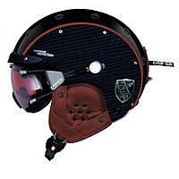 Горнолыжный шлем Casco SP-3 limited pure carbon schwarz-braun (MD)