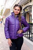 Зимняя куртка женская ALISA 2 цвет Сиреневый