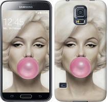 "Чехол на Samsung Galaxy S5 g900h Мэрлин Монро ""1833c-24-481"""