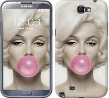 """Чехол на Samsung Galaxy Note 2 N7100 Мэрлин Монро """"1833c-17-481"""""""