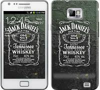 """Чехол на Samsung Galaxy S2 i9100 Whiskey Jack Daniels """"822c-14-481"""""""