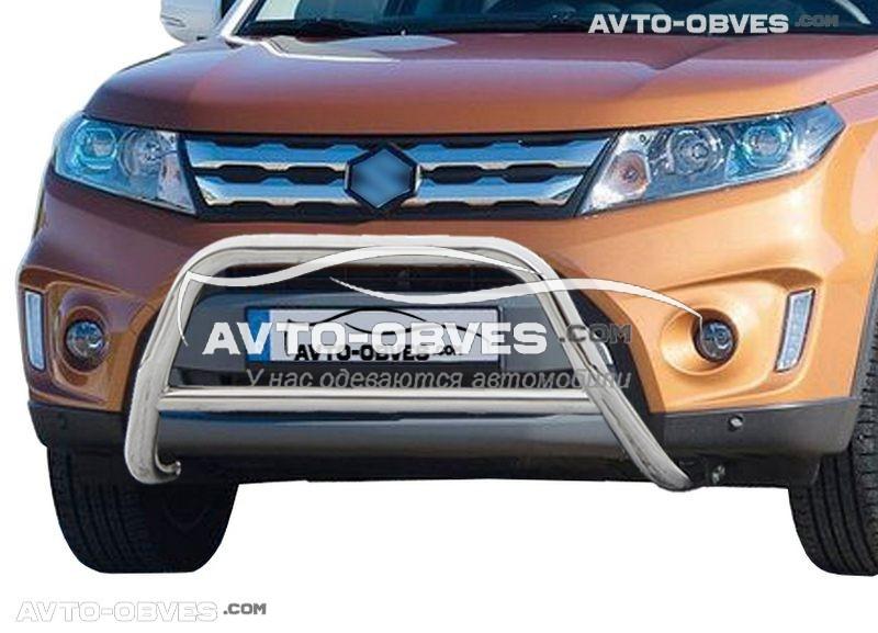 Защита переднего бампера для Suzuki Vitara 2015-...п.к. RR006