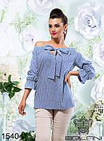 Женская. молодежная блуза  с  открытыми  плечами  -  15404 р-р S   M   L  женская одежда со скидкой