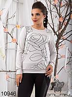 Женский модный свитшот  -  10946 р-р S   M женская одежда  в интернет магазине. Украина