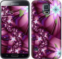"Чехол на Samsung Galaxy S5 g900h Цветочная мозаика ""1961c-24-481"""