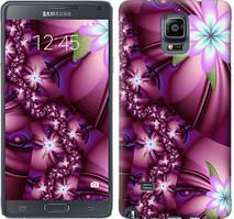 "Чехол на Samsung Galaxy Note 4 N910H Цветочная мозаика ""1961c-64-481"""