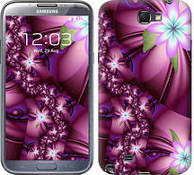 "Чехол на Samsung Galaxy Note 2 N7100 Цветочная мозаика ""1961c-17-481"""