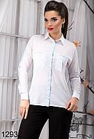 Женская блуза  в  полоску  -  12932 р-р S   M   L   XL женская одежда от производителя , Украина