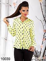 Легкая, женская, стильная  блуза  -  10039 рр S   M   L женская одежда от производителя , Украина