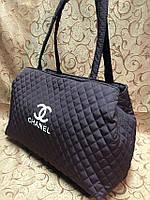 Женская сумка дутая