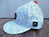 100% Оригинал Бейсболка кепка с прямым козырьком белая унисекс Nike AD