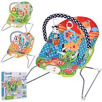 Детский шезлонг для новорожденных M 3498-1