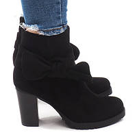 Ботинки женские весна, осень замшевые