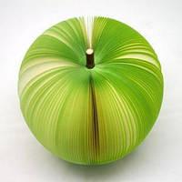 Блокнот Зеленое Яблоко  3D