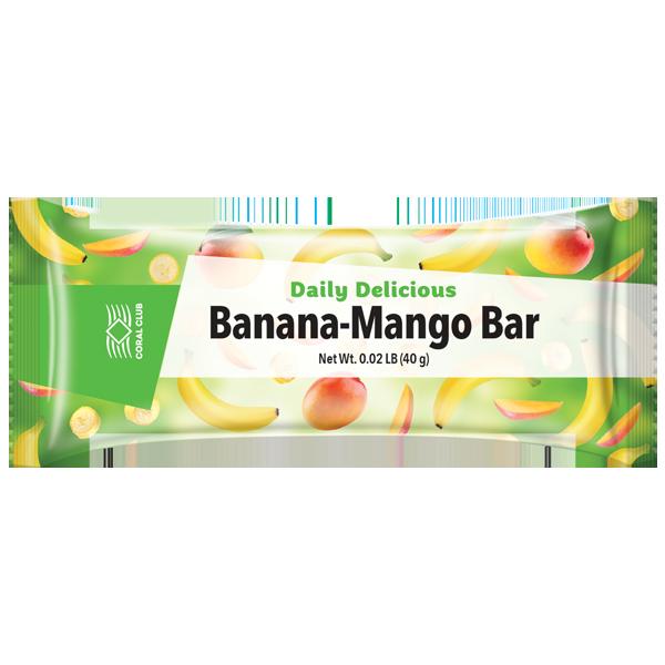 Дейли Делишес Банан-Манго бар Daily Delicious Banana-Mango Bar (2350)