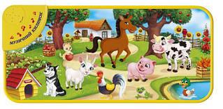 Развивающий коврик Домашние животные