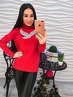 Ультрамодный свитер зимний