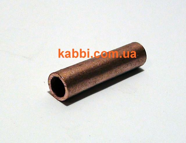 гильза медная гм-16-6-мм для кабеля соединительная kabbi.com.ua