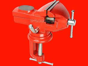Поворотные тиски Intertool НТ-0054 с наковальней на 60 мм