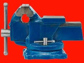 Слесарные поворотные тиски Vorel 36038 на 125 мм
