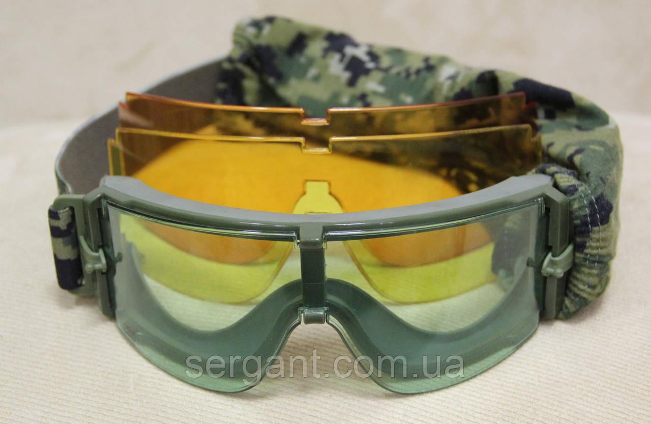 Тактические стрелковые баллистические очки «Вий-ШТУРМ».