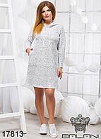 Женское Спортивное платье - 17813   рр 48 50 52 женская одежда от производителя. Украина