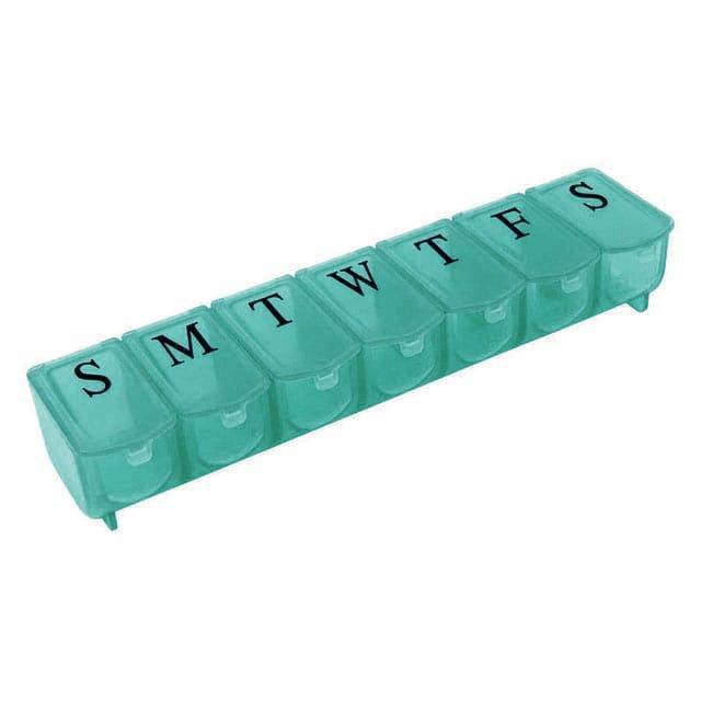 Контейнер для таблеток темно-зеленый