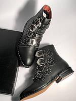 Моднейшие женские ботинки GIVENCHY Elegant Studs с заклепками