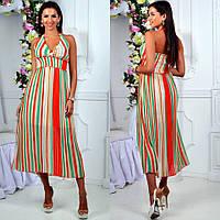 Платье летнее, лёгкое женское платье из шифона, разные цвета и размеры.