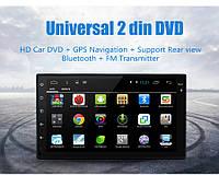 "Автомагнитола Junsun 7 ""2 DIN, Android 6.0, 4 G, GPS, задняя камера, видеорегистртор"