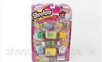 Герои Shopkins Шопкинс набор 12 шопкинсов, сумочки, бочонки
