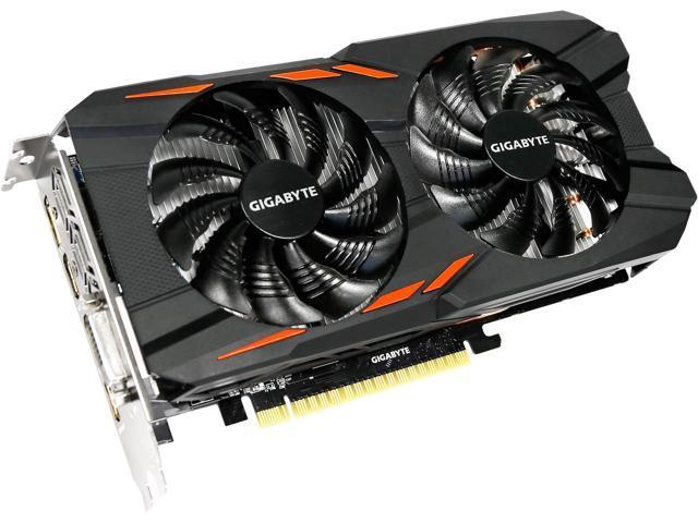 Видеокарта GeForce GTX1050 2Gb DDR5 128-bit Gigabyte (GV-N1050OC-2GD)