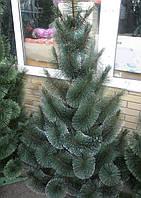 Искусственная елка 0,9 метра , сосна с имитацией инея