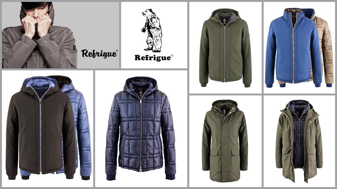 REFRIGUE Мужские куртки оптом