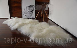 Коврик из двух овечьих шкур с длинным ворсом