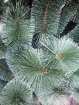 Искусственная елка 2,3 метра , сосна с имитацией инея, фото 3