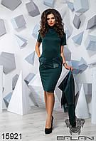 Женское модное, стильное  короткое стильный костюм - 15921 р-р S   M   L