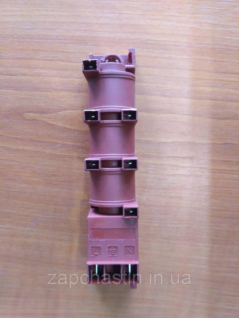 Електропідпал газової плити, 6 свічок, 2 контакти