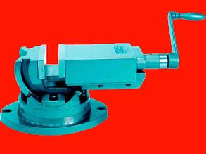 Groz 35001 AMV/SP-75 фрезерные двухосевые высокоточные станочные поворотные тиски 75мм