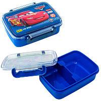 """Детский контейнер для еды """"Cars"""" с разделителем 705788 1 Вересня"""