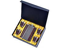 """Подарочный набор с флягой """"Hennessy"""" (Кожа)"""