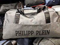 Спортивная сумка Philipp Plein 115214 (55 см х 30 см х 25 см) багажная дорожная из полиэстера плечевой ремень