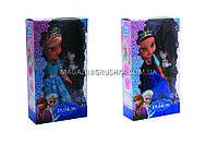 Куклы «Холодное сердце» - Эльза и Анна 368 (музыкальные) - 2 вида