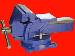 Miol 36-400 слесарные гаражные тиски поворотные 150мм